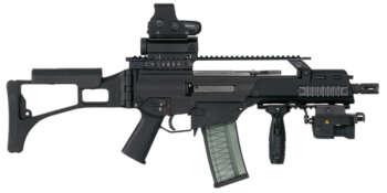 Pusca de asalt G36C – Heckler & Koch 0