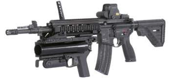 Pusca de asalt HK416 A5 - 16.5'' – Heckler & Koch 3